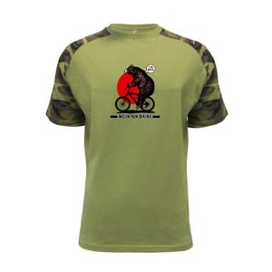 MTB medveď - Raglan Military