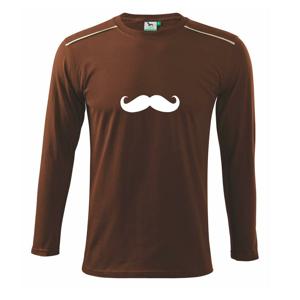 Mustache - fúziky - Tričko s dlhým rukávom Long Sleeve