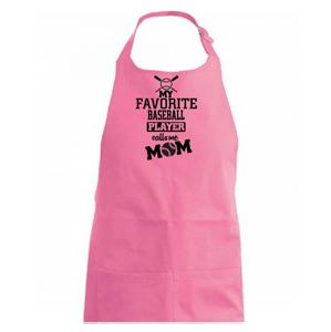 My favorite baseball player - DAD / MOM - Zástěra na vaření