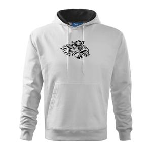 Nahnevaný orol - Mikina s kapucňou hooded sweater