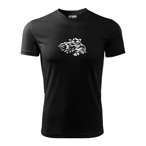 Nahnevaný orol - Pánske tričko Fantasy športové