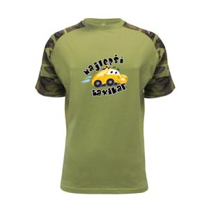 Najlepší taxikár kreslený - Raglan Military
