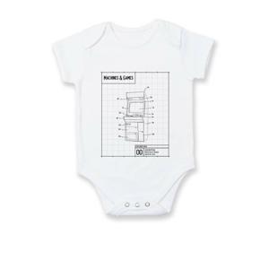 Nákres herný automat spredu - Dojčenské body