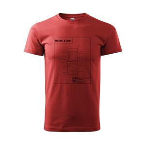 Nákres herný automat spredu - Heavy new - tričko pánske