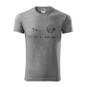 Nákres rameno gramofónu - Viper FIT pánske tričko