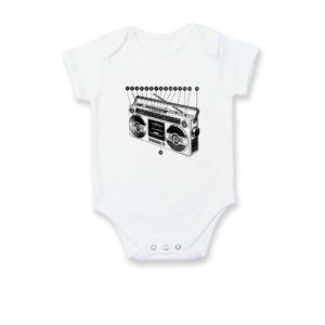 Nákres starý magnetofón - Dojčenské body