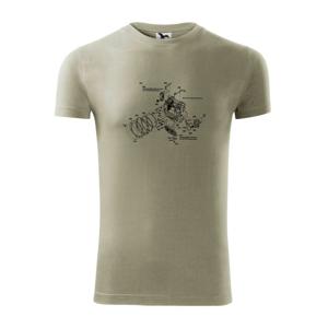Nákres uzávierka starý fotoaparát - Viper FIT pánske tričko