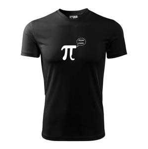 Nakusnuté Pí - Pánske tričko Fantasy športové