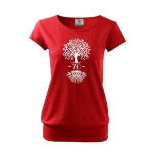 Narodeninový strom 70 - Voľné tričko city