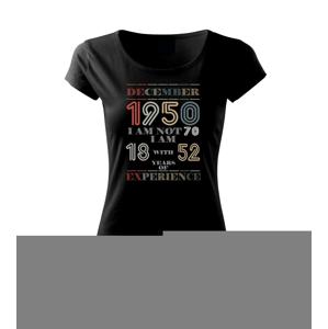 Narodeniny experience 1950 december - Pure dámske tričko