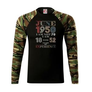 Narodeniny experience 1950 june - Camouflage LS