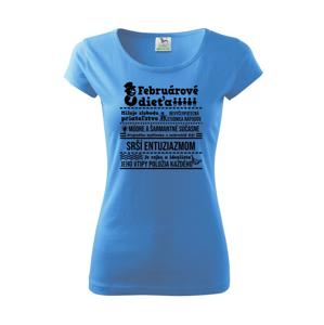 Narodeniny Február - Pure dámske tričko