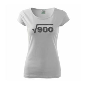 Narodeniny odmocniny 30 - Pure dámske tričko