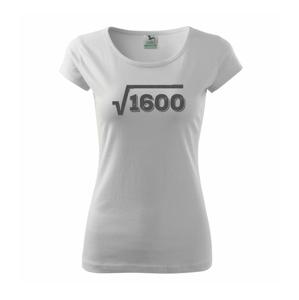 Narodeniny odmocniny 40 - Pure dámske tričko