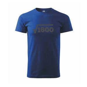 Narodeniny odmocniny 40 - Tričko Basic Extra veľké