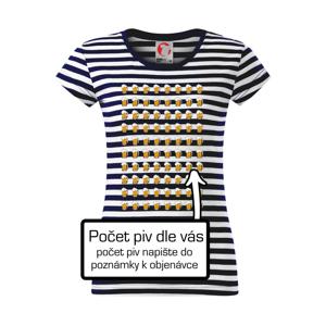 Narodeniny - počet pív podľa vás - Sailor dámske tričko