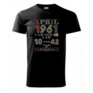 Narozeniny experience 1961 April - Heavy new - tričko pánske
