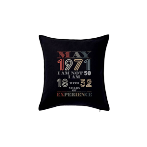 Narozeniny experience 1971 May - Vankúš 50x50