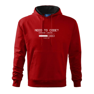 Need to code - Mikina s kapucňou hooded sweater