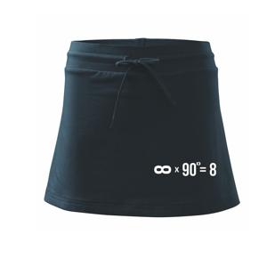 Nekonečno matematika - Športová sukne - two in one