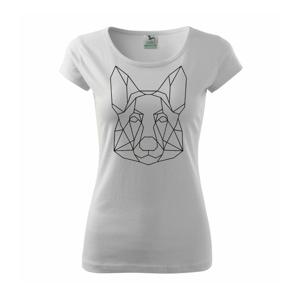 Nemecký ovčiak - Geometria - Pure dámske tričko