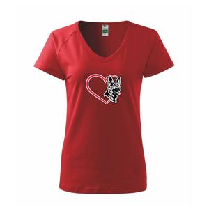 Nemecký ovčiak v srdci - Tričko dámske Dream