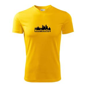 New York City silueta - Detské tričko fantasy športové tričko