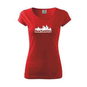 New York City silueta - Pure dámske tričko