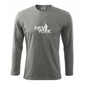 New York retro - Tričko s dlhým rukávom Long Sleeve