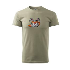 Ninja králík - Tričko Basic Extra veľké