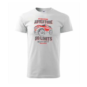 No Limits - Tričko Basic Extra veľké