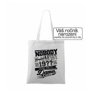 Nobody is perfect - Vlastný ročník - Taška malá