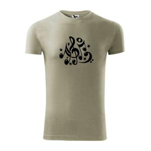Noty a hviezdy - Viper FIT pánske tričko