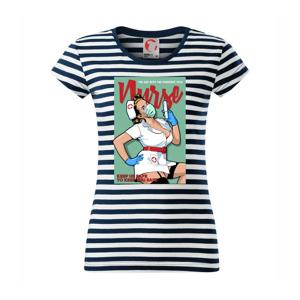 Nurse - keep us safe - Sailor dámske tričko