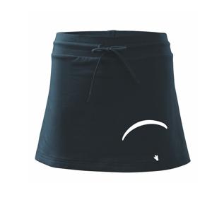 Obrys padáku velký - Športová sukne - two in one