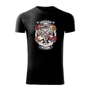 Oddaný hudbe SK - Viper FIT pánske tričko