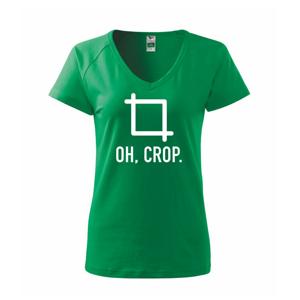 Oh, crop - Tričko dámske Dream