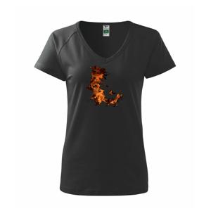 Oheň plameň - Tričko dámske Dream