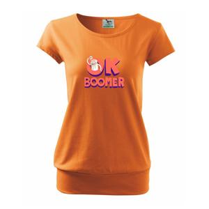 Ok boomer dedo - Voľné tričko city