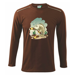 Opitá ryba - Tričko s dlhým rukávom Long Sleeve