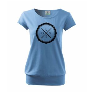 Paličky bicie LOVE - Voľné tričko city