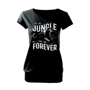 Panther jungle - Voľné tričko city