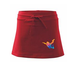 Parašutista splash - Športová sukne - two in one