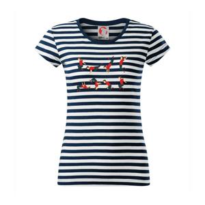 Parkour abeceda - Sailor dámske tričko