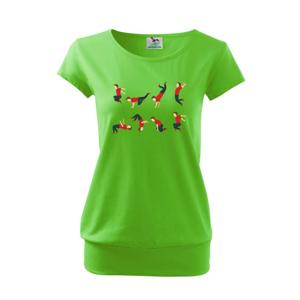 Parkour abeceda - Voľné tričko city