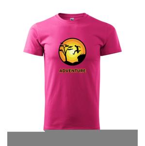 Parkour adventure - Heavy new - tričko pánske