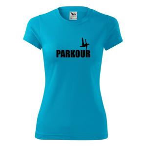 Parkour - na jednej ruke - Dámske Fantasy športové (dresovina)