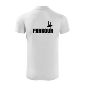 """Parkour - na jednej ruke - Polokošeľa Victory """"športové"""""""