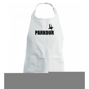 Parkour - na jednej ruke - Zástěra na vaření