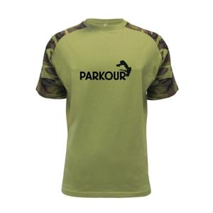 Parkour - salto - Raglan Military